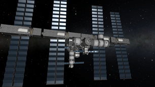 1/2 Scale Stock International Space Station