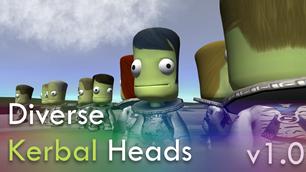 Diverse Kerbal Heads 1.0