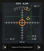 Docking Port Alignment Indicator