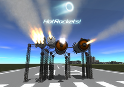 HotRockets! Particle FX Replacement