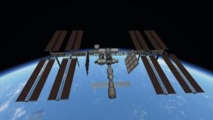 International Space Station (ISS) & Soyuz Rocket