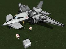 Kerbal Space Program mod Kerbal Inventory System (KIS)