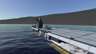 Laythe Aircraft Carrier 2.0