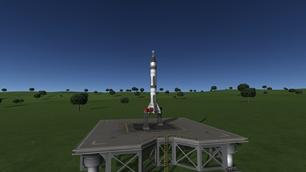 Kerbal Space Program mod Mercury-Redstone 3