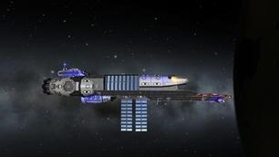 Mother Ship class Aircraft Carrier (stock) 1.0.4 KSP Version