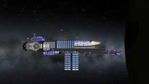 Kerbal Space Program mod Mother Ship class Aircraft Carrier (stock) 1.0.4 KSP Version