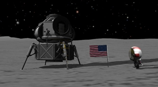 Realistic Saturn-Apollo scale 1