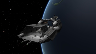 Space ship Carrier class III (stock) KSP