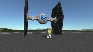 Spacetackle's K.I.E Fighter mod for 1.1.3